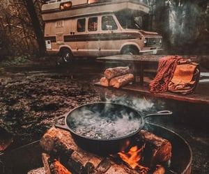 fire and travel image