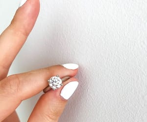 engaged, proposal, and proposal ring image