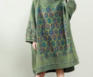 etsy, green dress, and bottoming dress image
