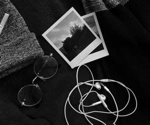 black, aesthetic, and black and white image