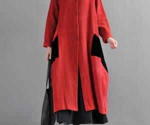 etsy, long sleeve coat, and maternity clothes image