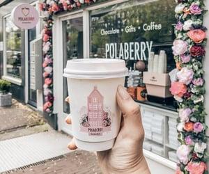 chocolate, coffee, and coffee shop image