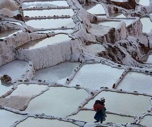 peru, salt, and maras image