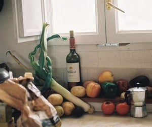 house, kitchen, and wine image