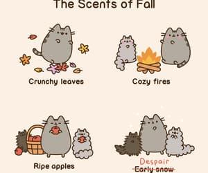 autumn, comic, and fall image