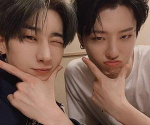 x1, cho seungyoun, and seungwoo image