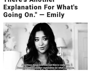 tv shows, emily fields, and pretty little liars image