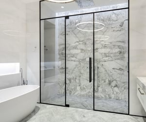 bathroom, design, and goals image