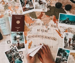 flatlay travel image