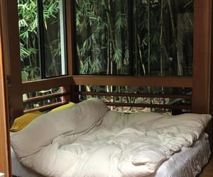 bamboo, bedroom, and house image