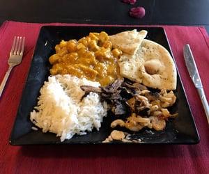 mango, tofu, and food image