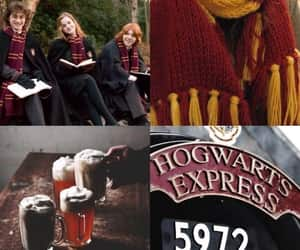 aesthetic, gryffindor, and background image