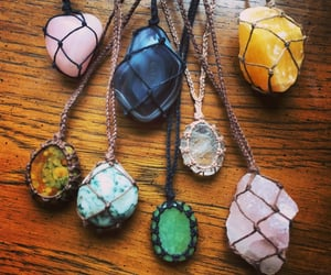 crystal, crystals, and necklace image