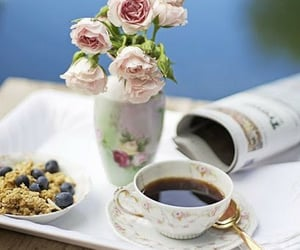 coffee, drinks, and coffee break image