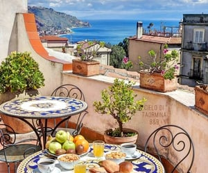 adventure, breakfast, and italy image