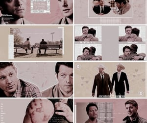aesthetic, series, and castiel image