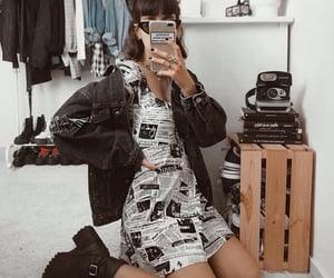 90s, clothes, and girl image