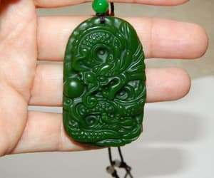 etsy, green dragon, and chinese dragon image