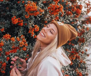 blonde, bloom, and flowers image