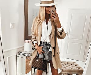 blonde, woman, and fashion image
