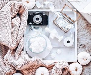 girly, flatlays, and sweater image