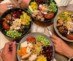 aesthetic, food, and hands image