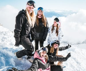 goals, friends, and snow image
