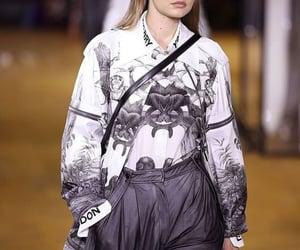 beauty, Burberry, and fashion show image