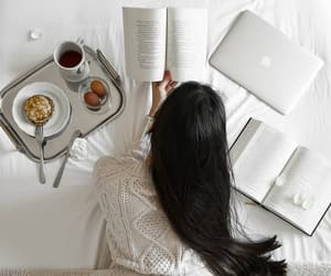beauty, books, and chill image