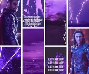 aesthetic, Marvel, and thor image