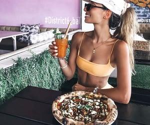 bali, pizza, and delicious image