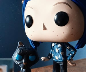 black, blue, and coraline image
