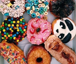 delicious, doughnut, and yummy image
