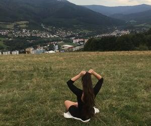 hair, nature, and slovakia image