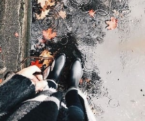 autumn, glasses, and boots image