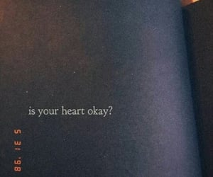 heart, is, and okay image