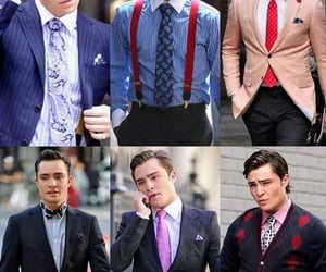 business man, ed westwick, and Hot image