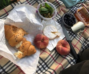 autumn, croissant, and food image