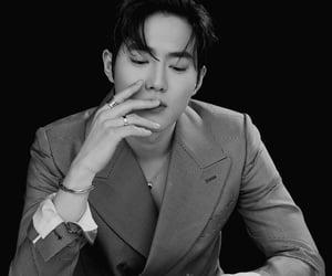 aesthetic, exo, and kim junmyeon image