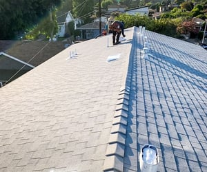 types of metal roofs, types of roofs, and types of shingle roofs image