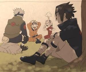 kakashi, naruto, and sasuke image