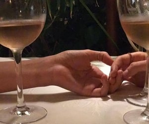 champagne, feeling, and couples image