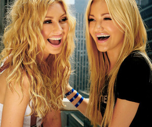 girl, blonde, and aly and aj image