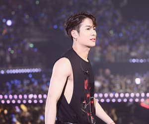 handsome, spinning top, and got7 image