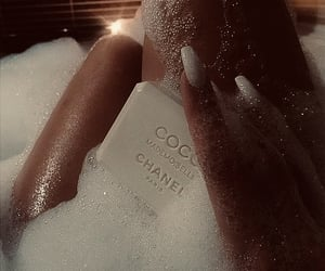 chanel, bath, and nails image