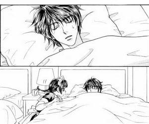 anime, maid, and sleeping image