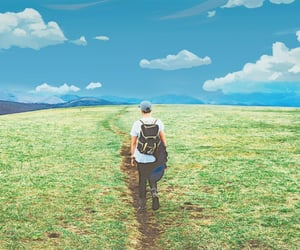 alone, cielo, and paisaje image