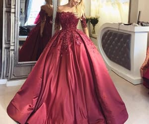evening gown, follow me, and follow us image