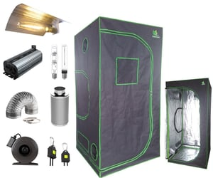 full hydroponic grow kits and hydroponic grow kit image
