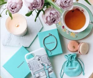 flowers, tiffany, and tea image